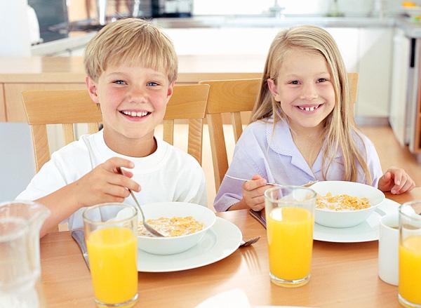 claves para un correcto desayuno infantil